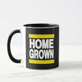Home Grown Yellow Mug