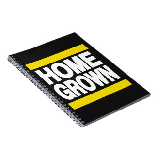 Home Grown Yellow Notebook