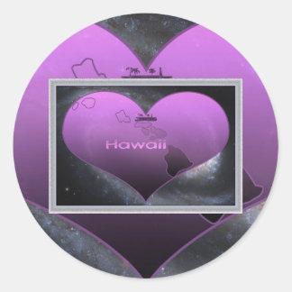 Home Hawaii, Home Hawaii Classic Round Sticker