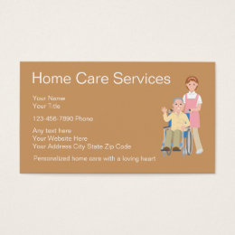Home healthcare business cards templates zazzle home health business cards colourmoves Images