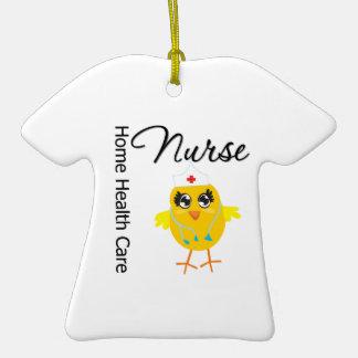 Home Health Care Nurse Chick v1 Ornament