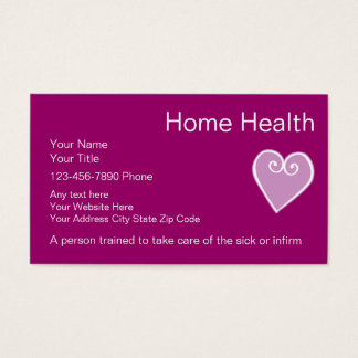 healthcare business cards