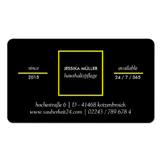 Home help cards Double-Sided standard business cards (Pack of 100)