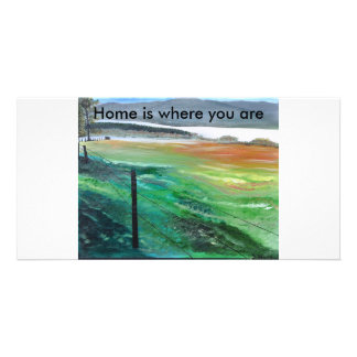 Home, Home is where you are Card