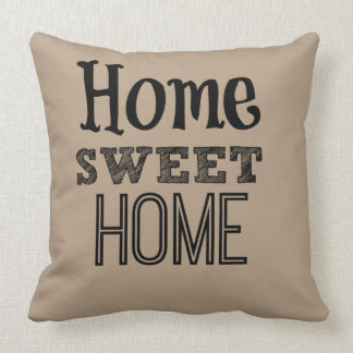 Home home to Sweet kisses Throw Pillow