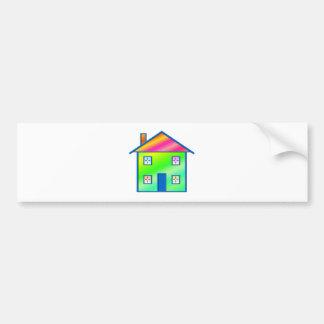 Home - House (04) Bumper Sticker