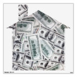 Home / House Decal Shape- $100 Dollar Bills Room Decals