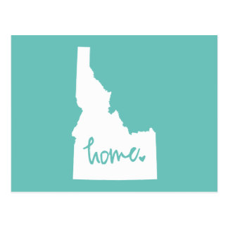 Home Idaho Custom Color Postcard