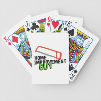 Home Improvement Bicycle Playing Cards