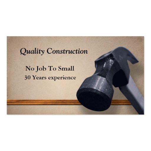 Home improvement business card templates zazzle for Home improvement business card template