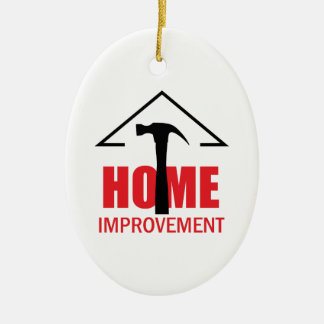 HOME IMPROVEMENT CERAMIC ORNAMENT