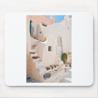 Home in Santorini Mouse Pad