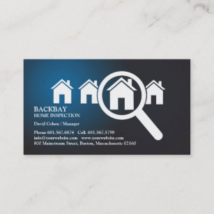 Home inspection business cards zazzle home inspection business card colourmoves