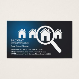 Home Inspection Business Cards & Templates | Zazzle