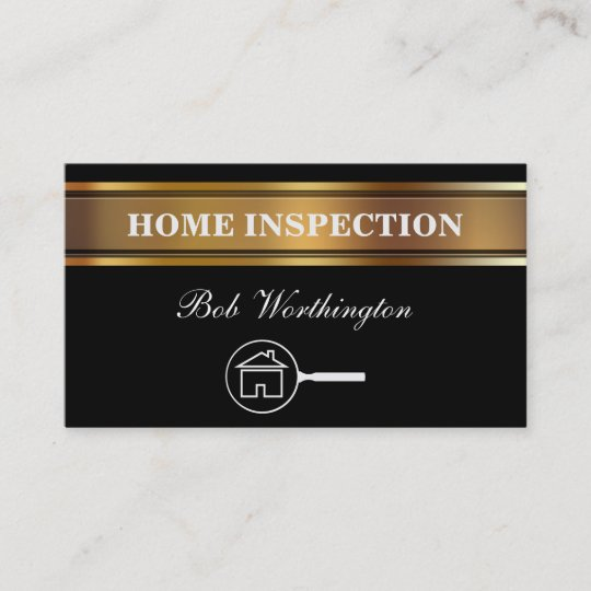 Home Inspection Business Cards