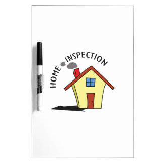HOME INSPECTION Dry-Erase WHITEBOARD