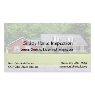 Home inspection business cards templates zazzle for Home inspection business cards