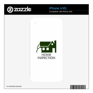 HOME INSPECTION iPhone 4S DECAL