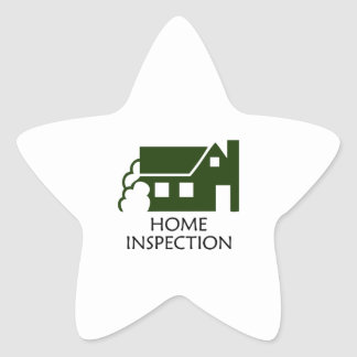HOME INSPECTION STAR STICKERS