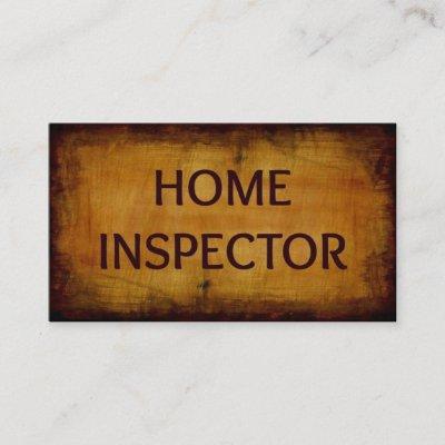 Home inspection inspector business card zazzle colourmoves