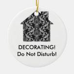Home Interior Decorator Ceramic Ornament