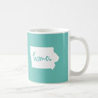 Home Iowa Custom Color Coffee Mug