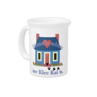 Home Is Alaskan Klee Kai Pitcher