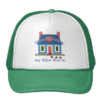 Home Is Alaskan Klee Kai Trucker Hat