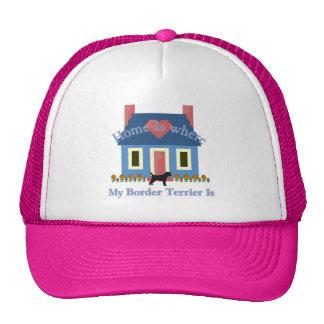Home Is Border Terrier Trucker Hat