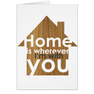 Home is card