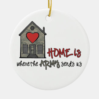 Home is christmas ornaments