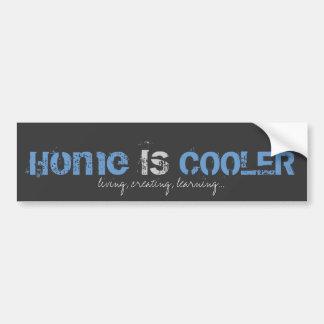 Home IS Cooler Sticker Car Bumper Sticker