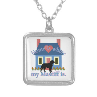 Home Is English Mastiff Necklace