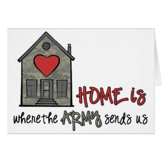 Home is greeting card