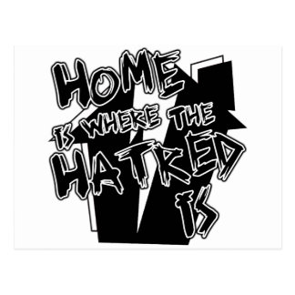 Home Is Hatred Postcard