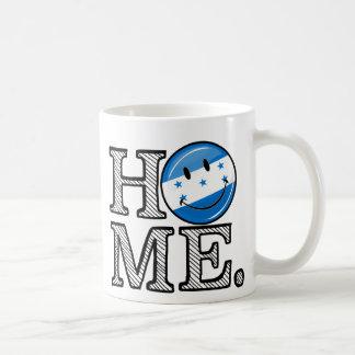 Home is Honduras Smiling Flag Housewarming Classic White Coffee Mug