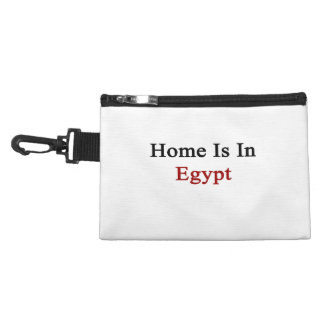 Home Is In Egypt Accessory Bag