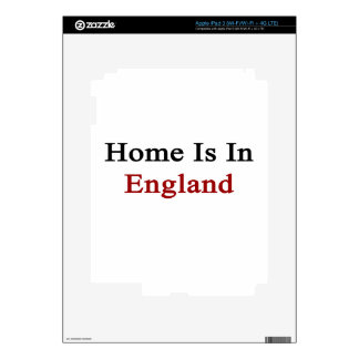 Home Is In England Skins For iPad 3