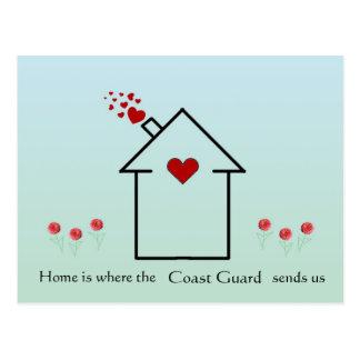 Home is.... postcard