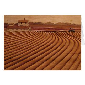 Home is the Heartland Blank Card
