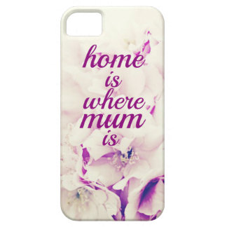 """Home is where Mum is"" iPhone SE/5/5s Case"
