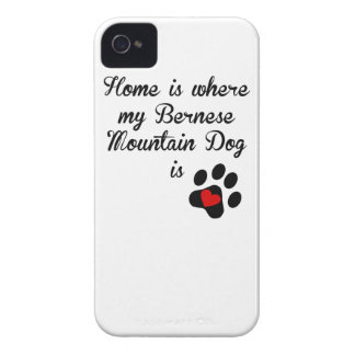 Home Is Where My Bernese Mountain Dog Is iPhone 4 Case