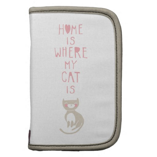"""""""Home is where my cat is"""" Planner"""