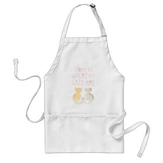 Home Is Where My Cats Are Apron