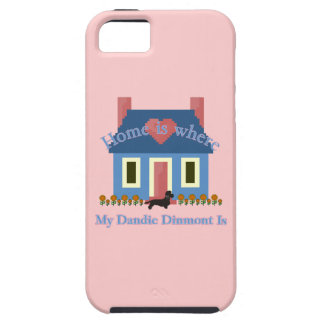 Home Is Where My Dandie Dimont Terrier Is iPhone SE/5/5s Case
