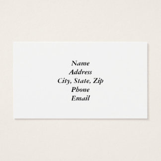 Home Is Where My Dog Is Business Card