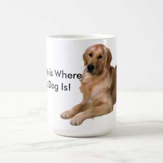 Home Is Where My Dog Is Mugs