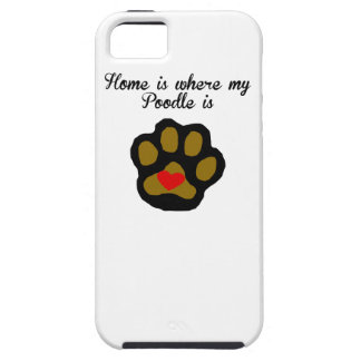 Home Is Where My Poodle Is iPhone SE/5/5s Case
