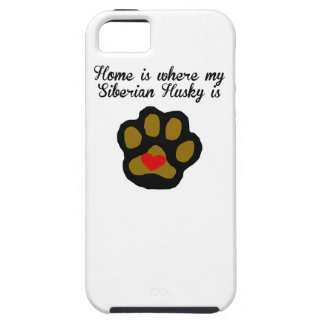 Home Is Where My Siberian Husky Is iPhone SE/5/5s Case