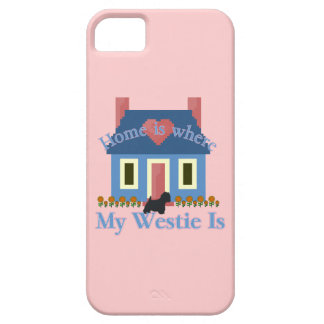 Home is Where My Westie Is iPhone SE/5/5s Case